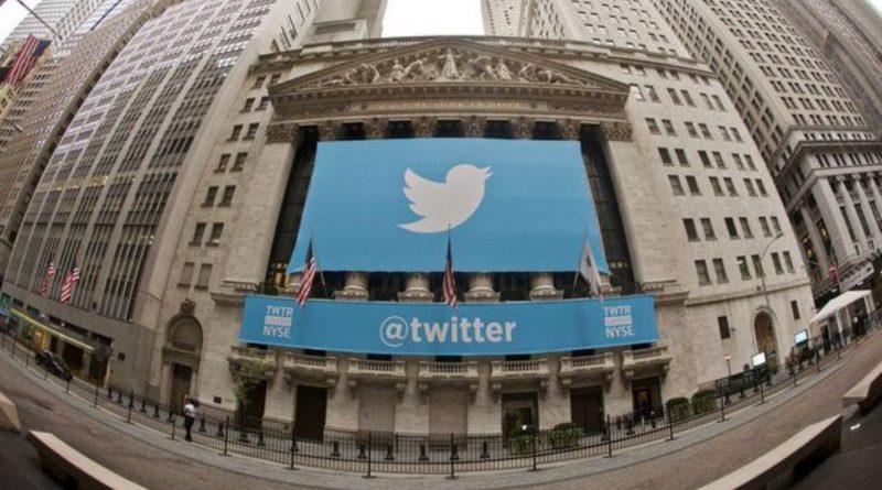Twitter debut, bolsa
