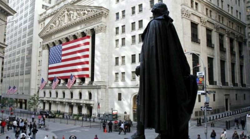 El Dow Jones retrocede el 1,02% en Wall Street