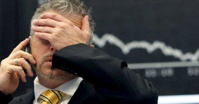 Wall Street cerró hoy de nuevo con pérdidas