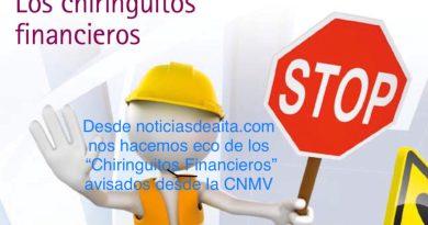 La CNMV avisa de 19 Chiringuitos Financieros