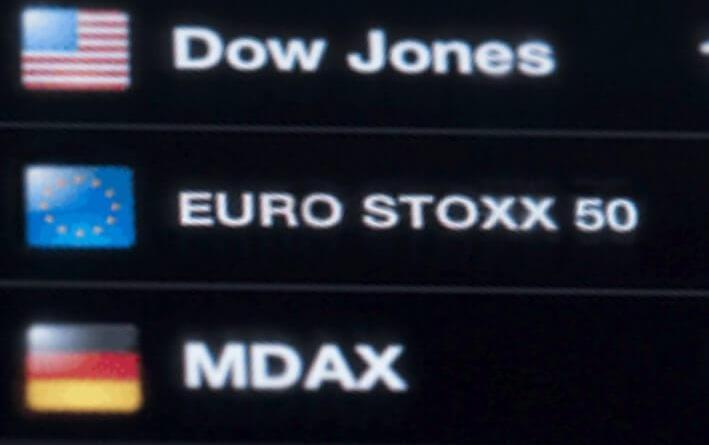 Las bolsas europeas cierran con fuertes retrocesos