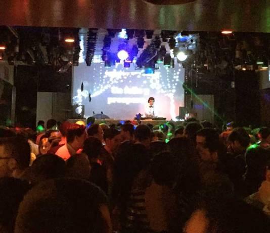Una de las fiestas en la Discoteca Sendero de Arnedo