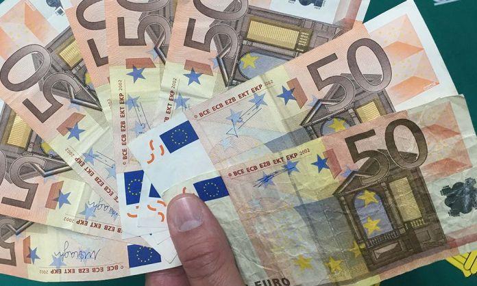 Billetes falsos intervenidos en Arnedo