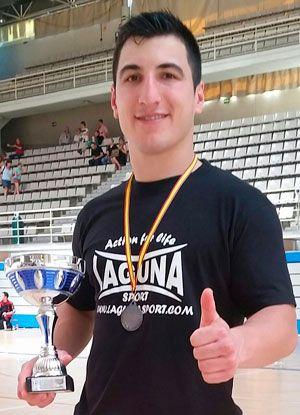 Chuchi Ibáñez, karateka arnedano