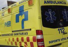 Ambulancia del Servicio Riojano de Salud con base en Arnedo