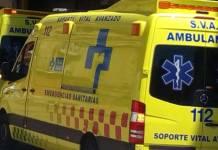Recursos de Emergencia del Servicio Riojano de Salud en una intervención en Arnedo