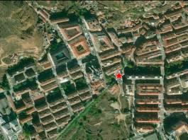 Zona donde una persona ha sido atropellada esta mañana en Arnedo