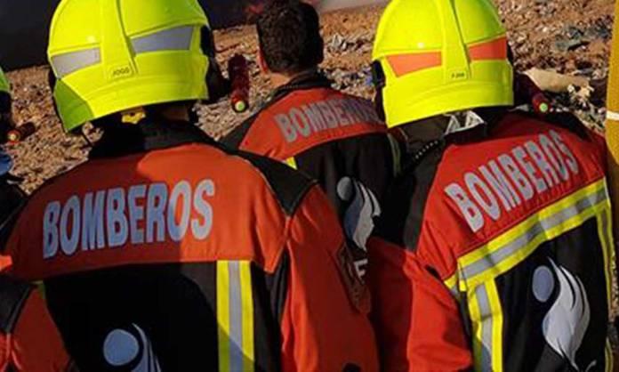 Bomberos del CEIS Rioja en una intervención
