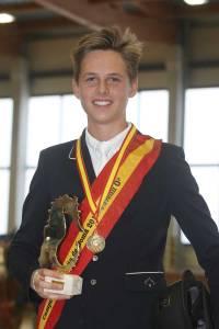 Sergio Morón Basoco, Campeón de España de Doma Clásica