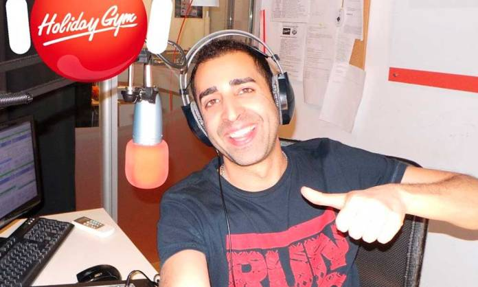 Andrés Montiel, en Holiday Gym Radio