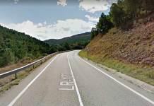 Entorno donde ha resultado herido un motorista aragonés