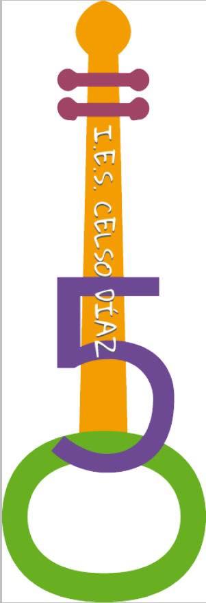 Logo del 50 Aniversario del IES Celso Díaz de Arnedo