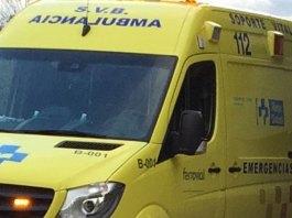 Ambulancia del Servicio Riojano de Salud