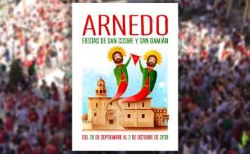 Cartel de las Fiestas de Arnedo San Cosme y San Damián 2018 de Rubén Lucas