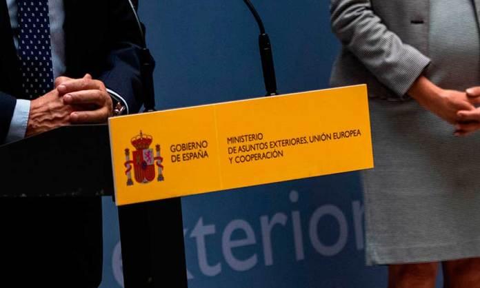 Imagen de archivo del Ministerio de Asuntos Exteriores