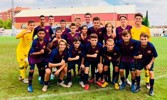 Equipo ganador del XXIV Torneo Internacional Ciudad de Arnedo (Imagen: FC Barcelona)