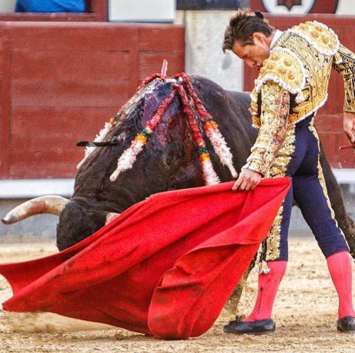 Diego Urdiales en Las Ventas de Madrid | Imagen: @plazalasventas