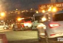 Zona del accidente en la LR-134 entre Arnedo y Calahorra