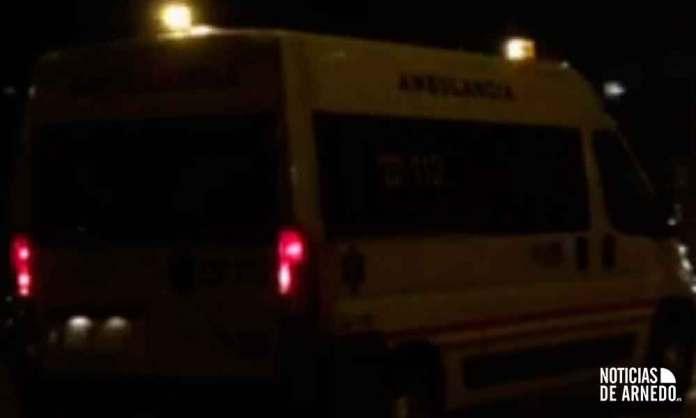 Ambulancia del Servicio Riojano de Salud en Calahorra (SERIS)