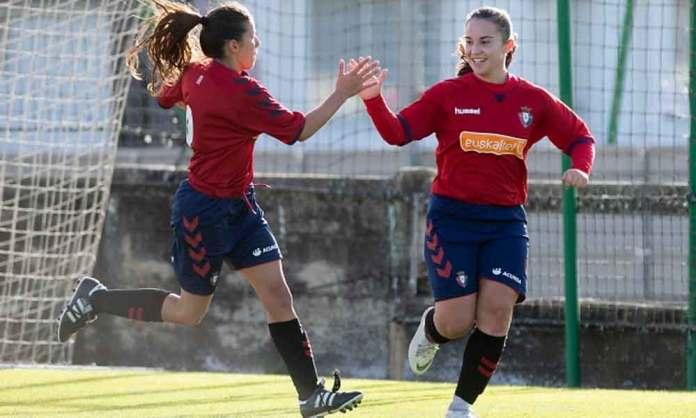 Sara Carrillo, jugadora en el Osasuna Femenino (Osasuna)