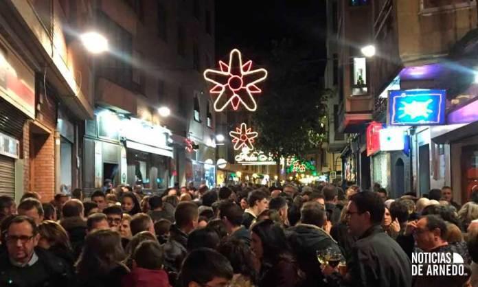 Imagen de Archivo: Arnedanos y visitantes salieron a las calles de Arnedo durante en navidades