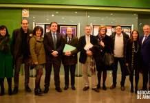 Moderador y ponentes junto con parte del comité organizador del IES Celso Díaz de Arnedo