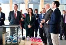 Visita institucional a la empresa Nuevo Milenio en Arnedo (Calzados Victoria)