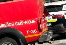 Bomberos del CEIS Rioja y la Policía Local de Arnedo