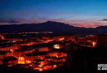 Atardecer en Arnedo (Imagen: A.Y.)