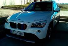 Imagen del vehículo robado en Lardero publicada por la familia arnedana