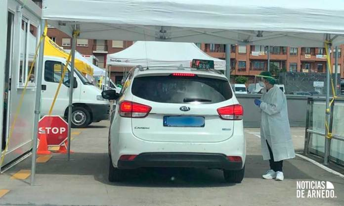 Pruebas PCR junto al CIBIR de Logroño (La Rioja)