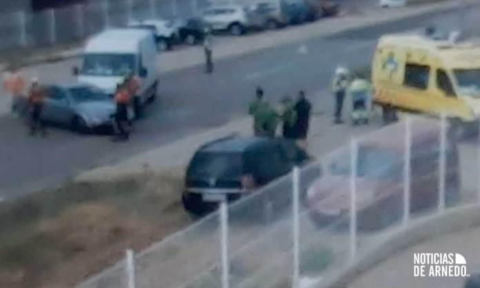 Primeras imágenes desde el lugar del accidente en el Polígono Planarresano