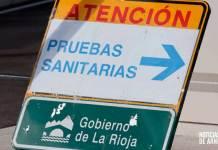 Señalización en el Centro de Salud de Arnedo