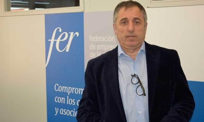 El empresario hostelero y hotelero arnedano, Demetrio Domínguez Ruiz