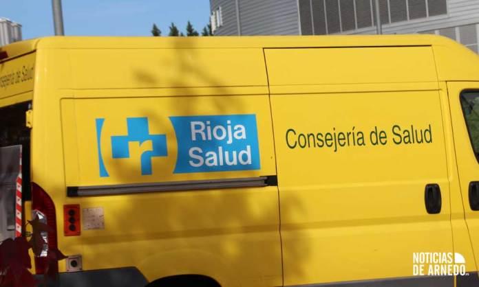 Vehículo especial del Servicio Riojano de Salud (SERIS) de la Consejería de Salud