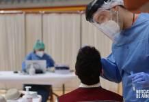 Test de antígenos en el Arnedo Arena (Noviembre 2020)