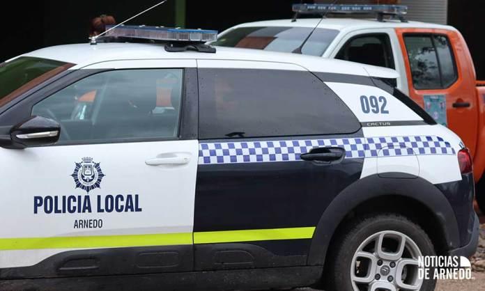 Vehículos de Policía Local y Protección Civil de Arnedo