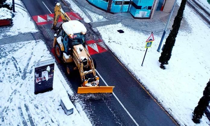 Imagen publicada por el alcalde de Arnedo el 10 de enero