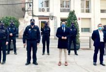 Presentación de las seis nuevas incorporaciones a Policía Local de Arnedo