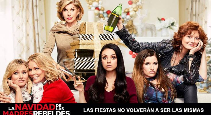 Te recomendamos ver la divertida película La Navidad de las madres rebeldes