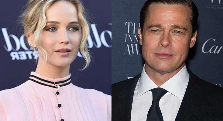 Jennifer y Brad Pitt