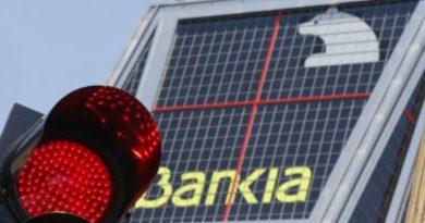 Desastre en la cotización de Bankia