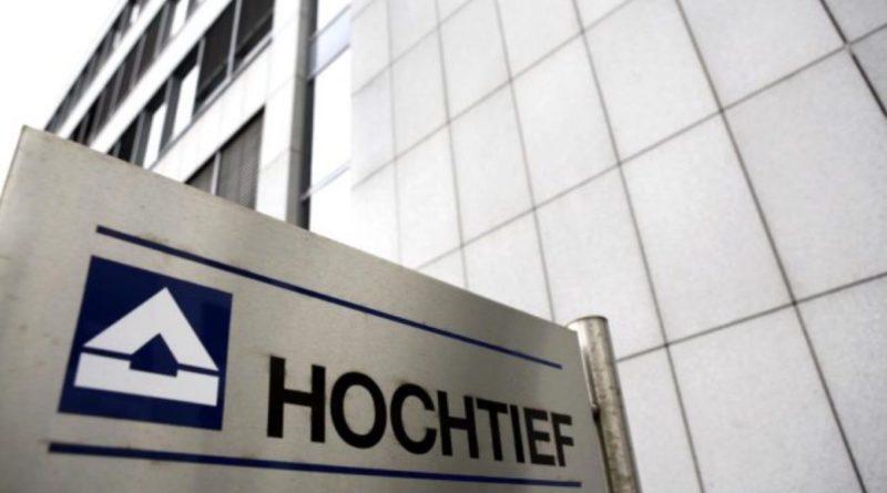 Hochtief (ACS) gana un contrato de 500 millones en Alemania