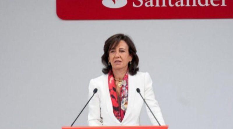 Banco Santander cotiza en mínimos de 25 años