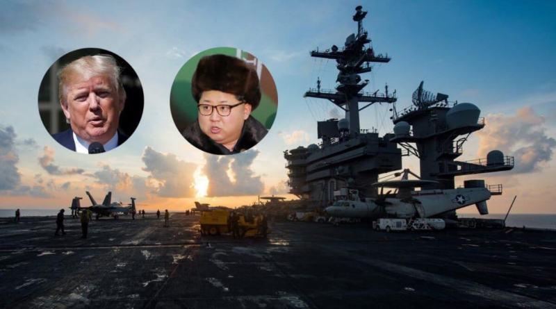 Trump Corea, portaaviones
