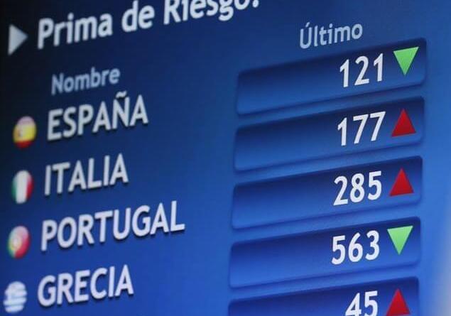 La prima de riesgo española ha bajado hoy a 120 puntos básicos