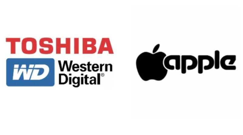 Logos, Toshiba WD Apple