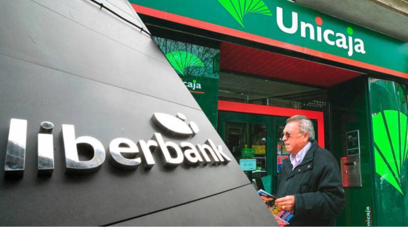 Unicaja y Liberbank ganan menos de la mitad en 2020