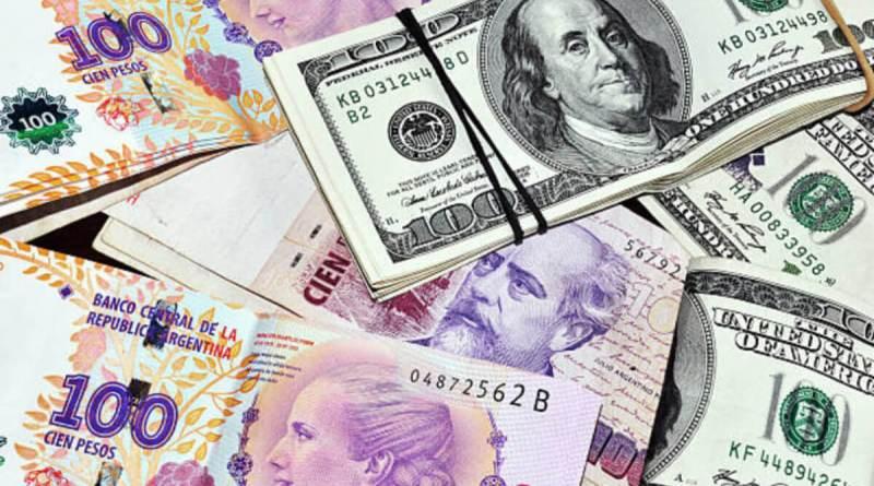 El peso argentino cae un 4,05% ante el dólar