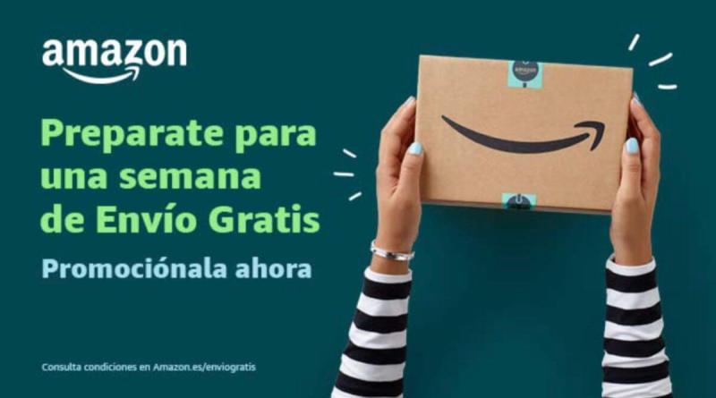 Hasta el 5 de diciembre envío gratis de Amazon